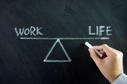 image of balance of work and life