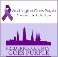 Washington Goes Purple and Frederick County Goes Purple