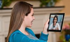 Telehealth services on an iPad